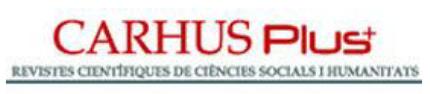 Carhus Pluses un sistema de clasificación de revistas científicas de los ámbitos de las Ciencias Sociales y Humanidades que se publican a nivel local, nacional e internacional. En la versión CARHUS PLUS 2014 Doxa Comunicación fue clasificada en el grupo D.