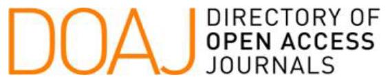 El Directorio de Revistas de Acceso Abierto fue lanzado en 2003 en Suecia. Actualmente contiene cerca de 12.000 revistas de todas las áreas científicas, tecnología, medicina, ciencias sociales y humanidades. Para poder formar parte de DOAJ las revistas deben cumplir con un código de buenas prácticas y superar positivamente una evaluación positiva de la calidad científica y editorial. Doxa Comunicación forma parte de DOAJ desde el 11 de octubre de 2017