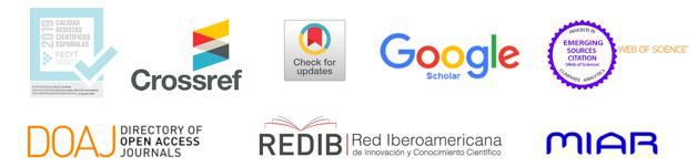 Revista indexada en las principales bases de datos
