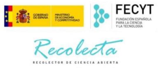 RECOLECTA o Recolector de Ciencia Abiertaes una plataforma que agrupa a todos los repositorios científicos nacionales y que provee de servicios a los gestores de repositorios, a los investigadores y a los agentes implicados en la elaboración de políticas (decisores públicos).RECOLECTA nace fruto de la colaboración, desde 2007, entre La Fundación Española para la Ciencia y la Tecnología (FECYT) y la Red de Bibliotecas Universitarias (REBIUN) de la CRUE con el objetivo de crear una infraestructura nacional de repositorios científicos de acceso abierto.