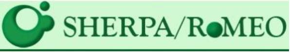 Servicio que agrega e identifica las políticas de acceso abierto de las revistas científicas de todo el mundo.